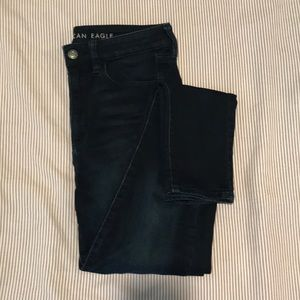 American Eagle Super Hi-Rise Jegging Dark Wash